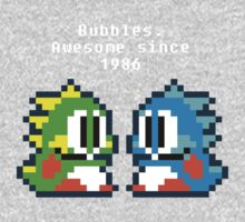 Bubbles. Awesome since 1986 Baby Tee