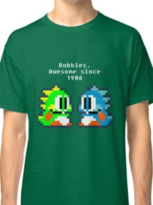 Bubbles. Awesome since 1986 Classic T-Shirt
