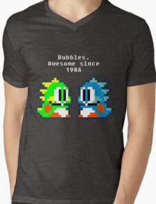Bubbles. Awesome since 1986 Mens V-Neck T-Shirt