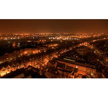 View from Castle Rock by Night Photographic Print
