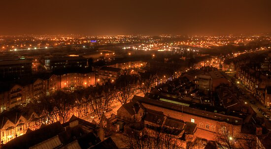 View from Castle Rock by Night by Lamar Francois