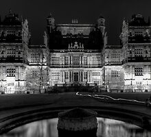Wollaton Hall by night (1) by Lamar Francois