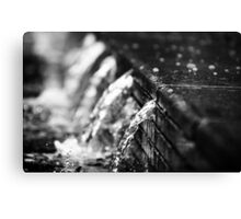 Old Market Square waterfalls Canvas Print