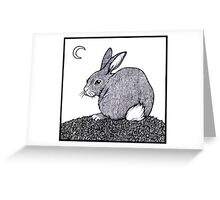 Cotton Tail Greeting Card