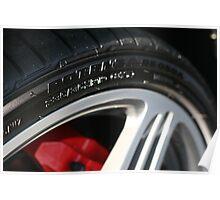 Porsche 998 Wheel/Potenza/Caliper Poster