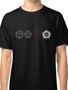Supernatural Protection (Light Symbols) Classic T-Shirt