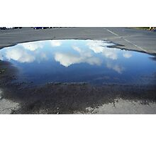 Reflecting Puddle Photographic Print