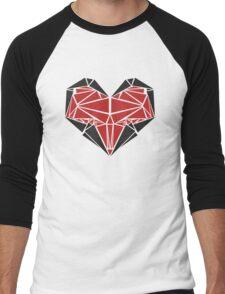 Triangle Love Men's Baseball ¾ T-Shirt