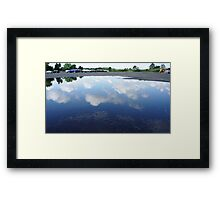 Reflecting Puddle 2 Framed Print