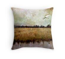 Wetlands-Yarra Glen Throw Pillow
