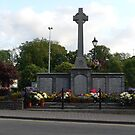 "The ""Great War Memorial,,1914--18"",Cahir,Co.Tipperary,Ireland. by Pat Duggan"