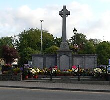 """The """"Great War Memorial,,1914--18"""",Cahir,Co.Tipperary,Ireland. by Pat Duggan"""