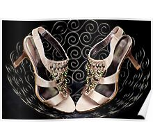 Bowl of shoes Poster