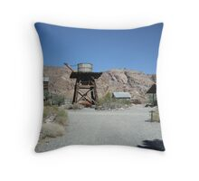 Eldorado Mine Nevada Throw Pillow