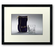 Crown Royal ad Framed Print