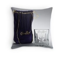 Crown Royal ad Throw Pillow