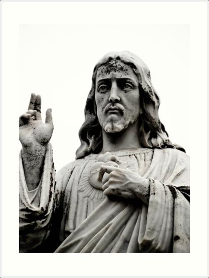 Sacred Heart Jesus by Jason Dymock Photography