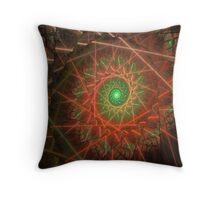 Protected By Lasers Throw Pillow