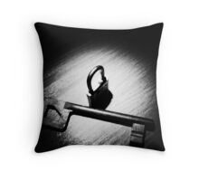 Unlock My Little Secret? Throw Pillow