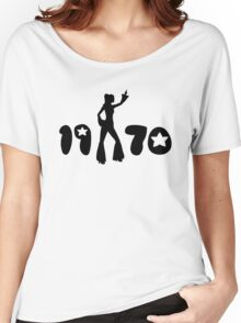 Retro Seventies Woman Women's Relaxed Fit T-Shirt