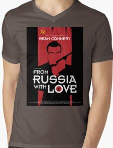 From Russia with Love - Movie Poster Mens V-Neck T-Shirt