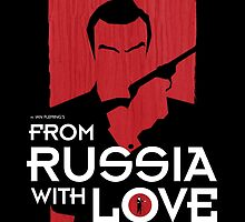 From Russia with Love - Movie Poster by 547Design
