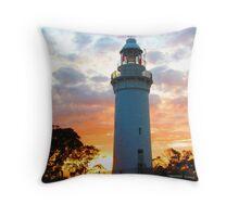 Table Cape Lighthouse Sunrise Throw Pillow