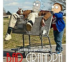 Bad Grandpa: Rick and Morty Photographic Print