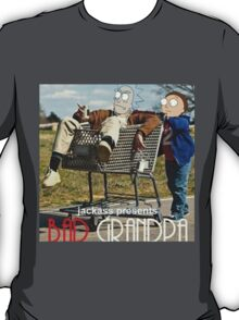 Bad Grandpa: Rick and Morty T-Shirt