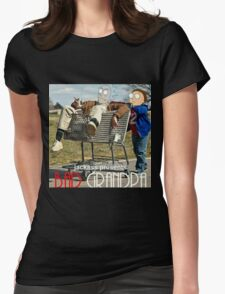 Bad Grandpa: Rick and Morty Womens Fitted T-Shirt