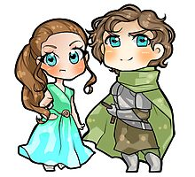 The Tyrell Siblings Photographic Print