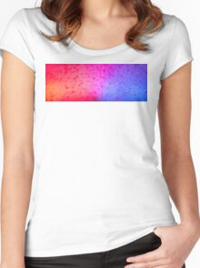 5-0 in Snow Women's Fitted Scoop T-Shirt