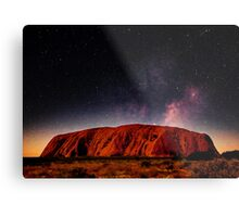 The Dreaming Rock - Night Metal Print