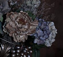 A Bouquet of Flowers On an Angle by Sherry Hallemeier
