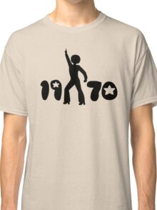 Retro Seventies Man Classic T-Shirt