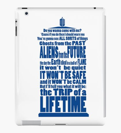 It's Gonna Be Fantastic Dr Who iPad Case/Skin