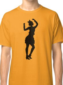 Retro Eighties Woman Classic T-Shirt