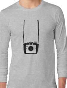 Vintage Camera Kodak Brownie Chiquita 127 Film Long Sleeve T-Shirt