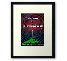 You Only Live Twice - Movie Poster Framed Print