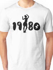 Retro Eighties Woman Unisex T-Shirt
