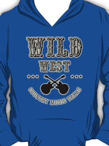 Wild West Country Texas T-Shirt