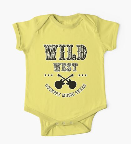Wild West Country Texas One Piece - Short Sleeve