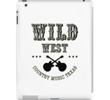 Wild West Country Texas iPad Case/Skin