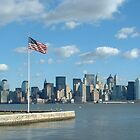 Manhatten From Ellis Island by kimhaz