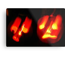 Thoroughly Haunted ~ Happy Hallowe'en Metal Print