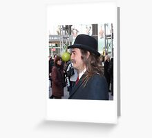 The Son of a Man Greeting Card