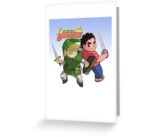 Legends of Universe Greeting Card