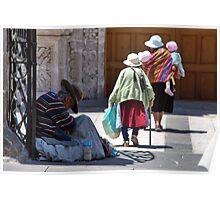 Gente de San Augustin #4 Poster