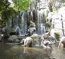 Elephant Splash Party by disgirl