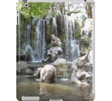 Elephant Splash Party iPad Case/Skin